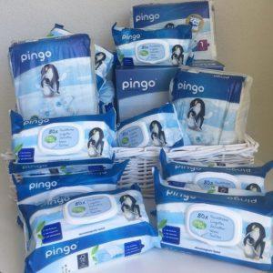 pañales y toallitas ecológicas desechables